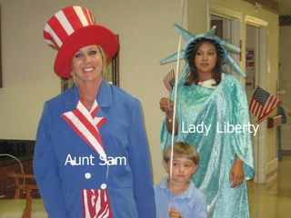 Aunt Sam and Lady Liberty01