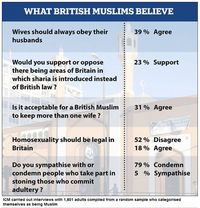 Muslim survey Britain