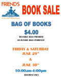 Ector County library book sale