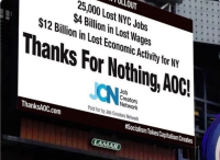 Amazon out thanks for nothing AOC